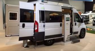 Dieses Fahrzeug verbindet die Vorteile eines Lieferwagens mit dem Komfort einer Supercampers