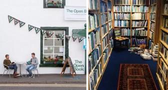 Un'idea per un viaggio originale? Su Airbnb puoi affittare una vera libreria in un piccolo villaggio della Scozia