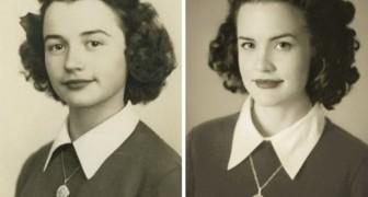 24 Enkel die Aufnahmen ihrer Großeltern in jungen Jahren nachgestellt haben