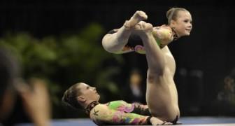 I migliori momenti di ginnastica acrobatica