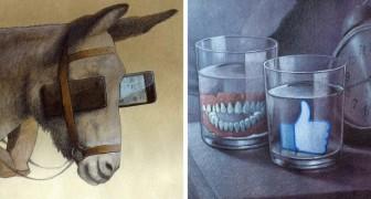 16 Illustrationen, die die bitteren Wahrheiten des heutigen Lebens darstellen