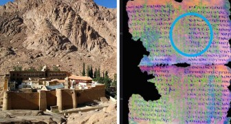 Im Kloster von Santa Caterina wurden Pergamente gefunden, deren Sprache man nicht kennt