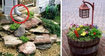 26 Ideen, um euren Garten oder Hof in ein kleines Paradies zu verwandeln