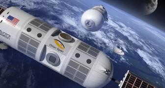 Het eerste luxehotel in de ruimte is begonnen met reserveringen te accepteren maar vraagt wel een Kleine aanbetaling