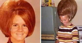 Coiffures extra larges : 24 images surprenantes sorties tout droit des années 60.