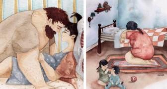Al het moois van het gezinsleven: in deze tekeningen vind je een stukje van jezelf terug