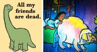 14 immagini trovate nei libri per bambini... che ci hanno lasciato alquanto perplessi