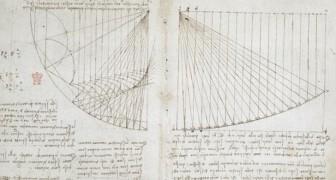 570 pagina's geschreven door Leonardo Da Vinci staan online: het is alsof je in het brein kan kijken van een genie