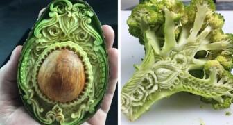 Dieser junge italienische Künstler verwandelt jedes Lebensmittel in ein Kunstwerk