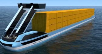 Les bateaux Tesla arrivent, les premiers cargos 100% verts qui révolutionneront le transport maritime
