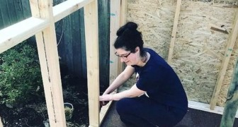 She was homeless after her divorce but this mother decided to BUILD HER OWN HOUSE for herself and her children