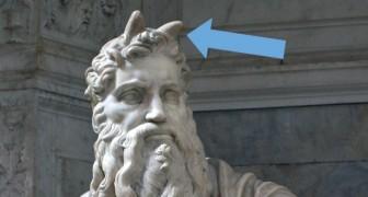 6 zeer beroemde standbeelden die stiekem aspecten hebben die moeilijk zijn te ontcijferen