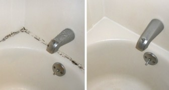 Traces of mold in the bathroom? This homemade method removes mold in a simple and very effective way!