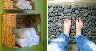 12 idées pour décorer la salle de bain avec du style et en faire l'endroit le plus accueillant de la maison.