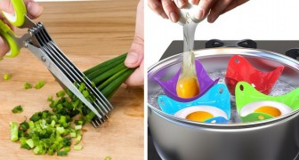 24 gadgets utiles et amusants que vous voudrez avoir tout de suite dans votre cuisine.