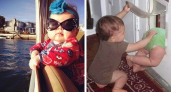 These photos show that having children can be terribly funny!