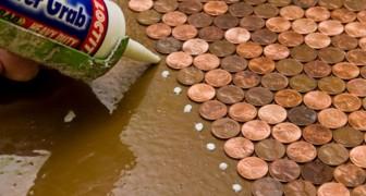 Una donna raccoglie 3 sacchi di monete e trasforma una stanza anonima nel luogo più bello della casa