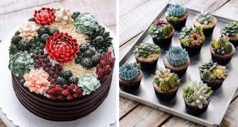 Queste torte a tema pianta grassa sono così belle che vi domanderete se siano vere