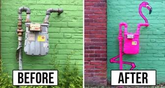 Ce brillant artiste vandalise les espaces urbains... et espérons que personne ne l'arrêtera !