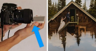 Wenn Sie Ihr Smartphone unten an der Linse platzieren, können Sie märchenhafte Fotos machen