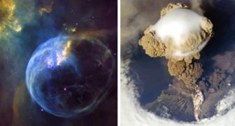 18 foto's die je helpen een idee te krijgen van hoe fascinerend de aarde en de ruimte daarbuiten is