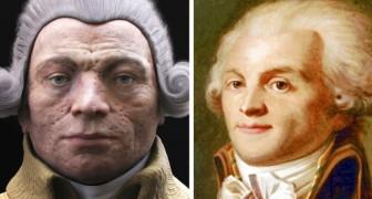 Gli scienziati ricreano in 3D i volti di alcuni personaggi storici
