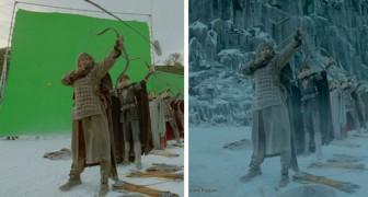 Avant les effets spéciaux : 13 images révèlent l'aspect original de quelques films célèbres
