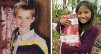 A 7 anni spedisce un pacco di Natale nelle Filippine: 14 anni dopo, quel gesto gli cambierà la vita