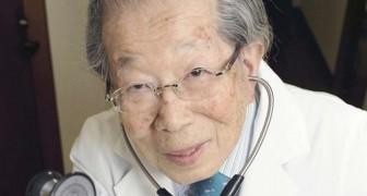 Ein japanischer Arzt, der 105 Jahre alt geworden ist, gibt wertvolle Ratschläge für ein gesundes Leben