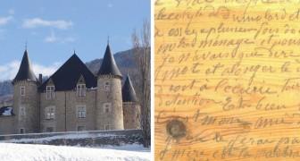 Les propriétaires du château retirent le sol datant de la fin du 19e siècle, et trouvent un macabre journal secret