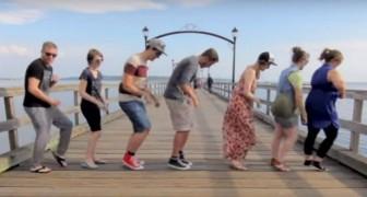 Gira il paese e invita 100 sconosciuti a fare la sua coreografia: il risultato è qualcosa di spettacolare