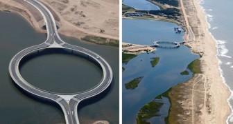 Questo ponte in Uruguay è diverso da tutti gli altri: è circolare ed ha una funzione ben specifica
