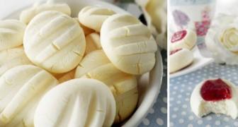 Heerlijke koekjes met gecondenseerde melk die je met weinig ingrediënten in minder dan een half uur kunt maken