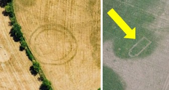 Door de warmtegolf in Groot-Brittannië komen er op akkers ongelofelijke archeologische Verrassingen tevoorschijn
