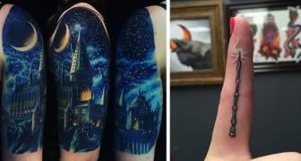 33 bezaubernde Tattoos, die jeder Harry Potter-Fan nur verehren kann