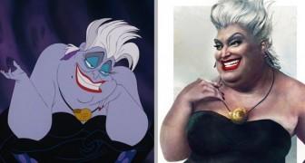 Un artista ritrae i personaggi Disney come persone reali: ecco i cartoni animati come non li avete mai visti
