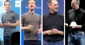 Warum haben die Millionäre jeden Tag die gleiche Kleidung an?