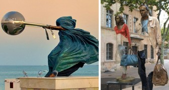 18 wenig bekannte Skulpturen, die die Regeln der Schwerkraft herausforderten und besiegten