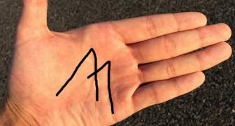 Har du ett M på din hand? Det betyder detta enligt den gamla arten av spådom