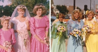 10 fotos vintage de casamentos que nos fazem ver quanto eram bizarras as modas do passado