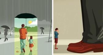 Questo illustratore disegna le verità amare che non abbiamo il coraggio di confessarci