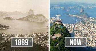 Ces 13 photos avant/après de villes célèbres montrent à quel point elles ont changé en très peu de temps