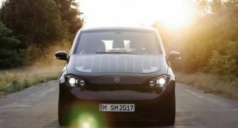 Arriva Sion, la prima auto elettrica che si ricarica con la luce del sole