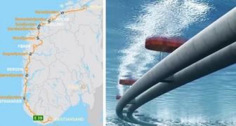 È l'opera più grande mai costruita in Norvegia: ecco l'autostrada da 47 miliardi che collegherà tutti i fiordi