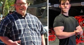 Ce garçon a perdu 108 kg en 2 ans seulement : son histoire est une invitation à ne plus trouver d'excuses.
