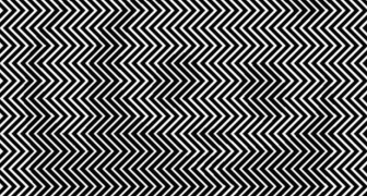 Who or what is hidden behind these zig zag lines? Only a few can immediately give the right answer