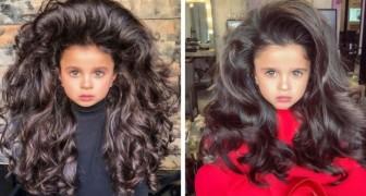 Cette petite fille de 5 ans est devenue célèbre grâce à sa splendide chevelure
