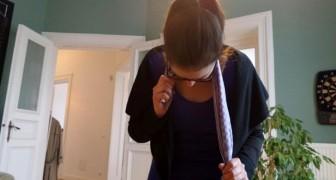 Come liberarsi del dolore al collo usando un semplice asciugamano