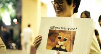 Una de las propuestas de matrimonio más originales de todos los tiempos