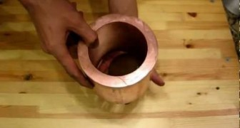 Release a magnet in a copper tube...WOW !